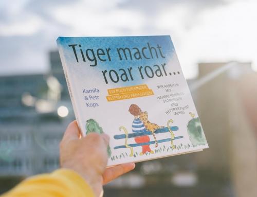 """Das Buch """"Tiger macht roar roar…"""" ist für euch da!"""